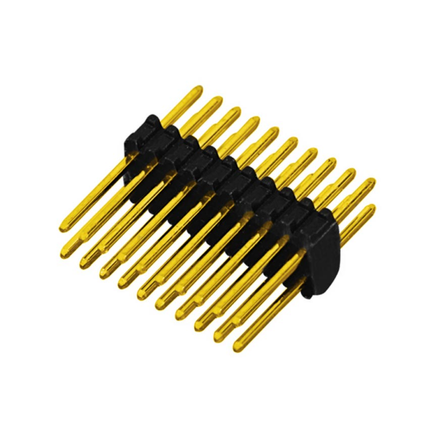 0.8mm Pin Header H=1.38mm Double Row Straight Type