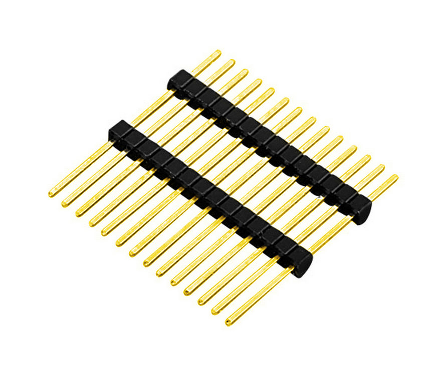 PH1.27mm Pin Header Connector Single Row Dual Body Straight Type Board to Board Connector