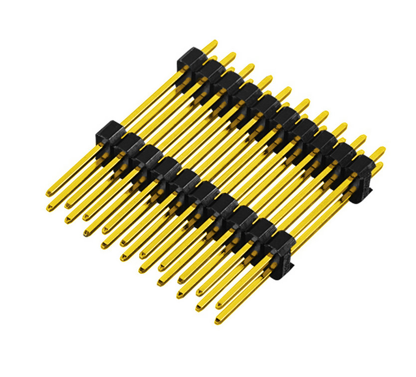 PH2.54mm Pin Header Dual Row Dual Body Straight Type Board to Board Connector Pin Connector