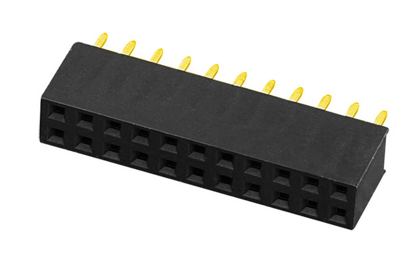 PH2.0mm H=6.35mm Female Header Y-type Dual Row Straight Type Board to Board Connector