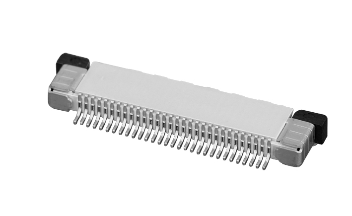 PH0.5mm FPC, H=2.0mm up contact type FPC connector