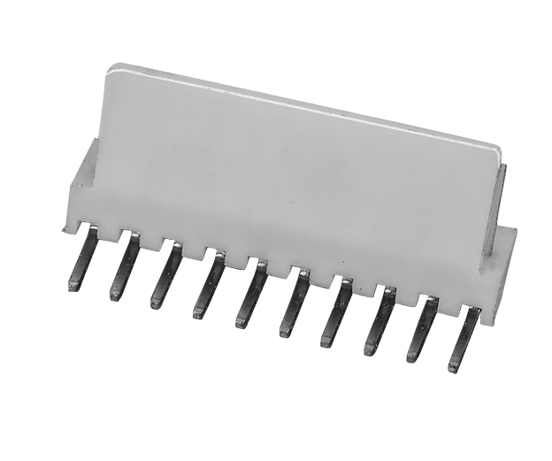 PH2.54mm wafer, single row, DIP right angle type with straight back wafer connectors