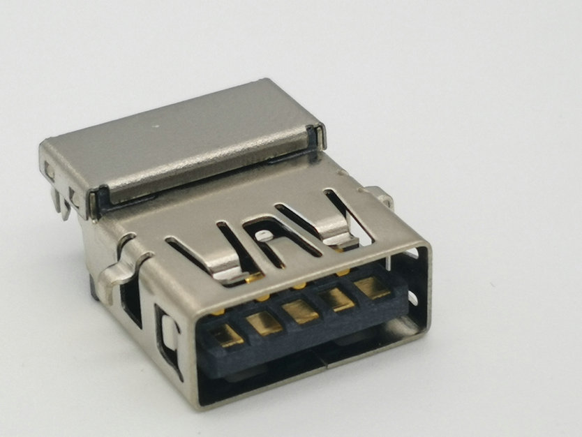 USB 3.0 A-type, Female, Sinking Board Type, CH=1.54mm, I/O Connector