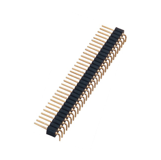 PH2.0mm-L Machined Male Header H=2.80 Single row Double row 90°Type