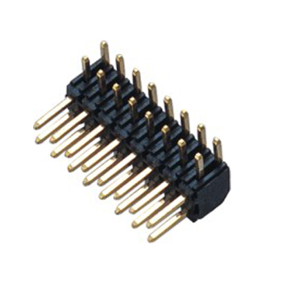 PH2.0mm Pin Header H=4.0 Double Row Right Angle Type